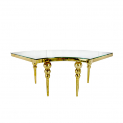 Luxembourg Serpentine Dining Table