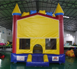 Rainbow Castle Bounce House-BH116