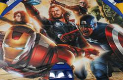 Avengers Art Panel