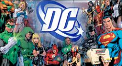 DC Comics Art Panel