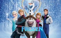 Frozen Themed Art Panel