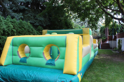38 Ft Yellow/Green Obstacle Course