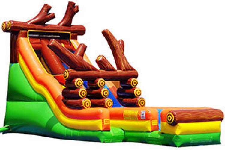 18' Log Jam Water Slide