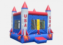 USA Rocket Bouncer