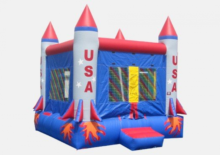 USA Rocket Bouncer