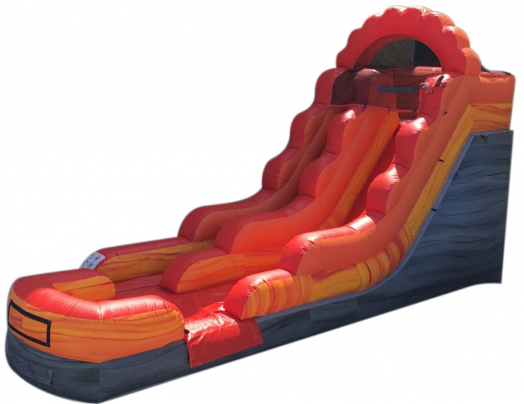 12' Fire and Ice Water slide