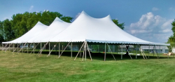 60'x120' Twin Peak Pole Tent