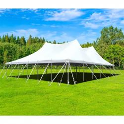 60'x60' Twin Peak Tent