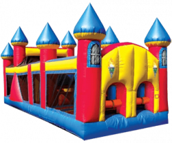 30' Obstacle Course Castle