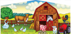 Animal Farm Themed Panel
