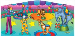 Circus Themed Panel
