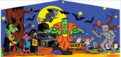 Halloween Themed Panel