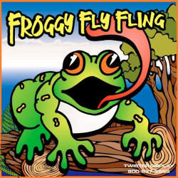 Froggy Fly Fling Frame Game