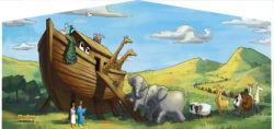 Noah's Ark Themed  Panel