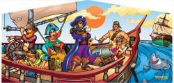 Pirates Themed Panel