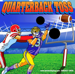 Quarterback Toss Frame Game