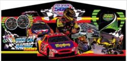 Race Car Themed Panel