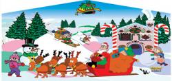 Christmas Themed Panel