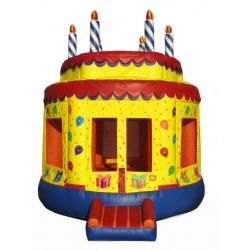 Birthday Cake Moonbounce