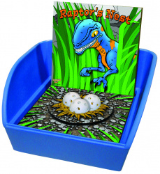 Raptor's Nest Ball Toss Game