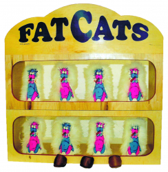Fat Cats Knock Down Game