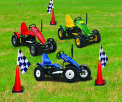 Pedal Go-Karts w/Cone Course