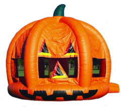 Pumpkin Moonbounce