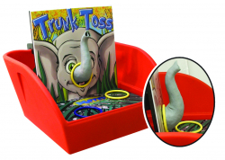 Trunk Ring Toss Game