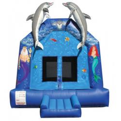 Mermaid Dolphin Moonbounce