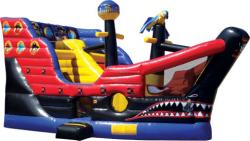 Pirate Ship Climb & Slide