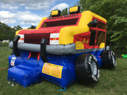 Monster Wheels Moonbounce