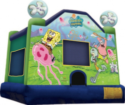 Sponge Bob Square Pants Moonbounce