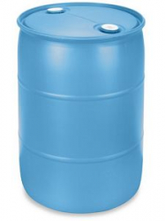 Water Barrel, 55 Gallon, Closed Top