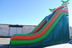 0e92d0893ede33dc6a9fb2cf40ee62de 22 Foot Double Lane Dry Slide (Tropical) $425