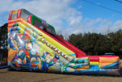 22 Foot Double Lane Dry Slide (Extreme) $400