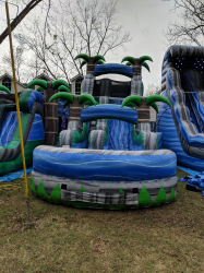 18 Foot wet Slide (Palm Trees) $300