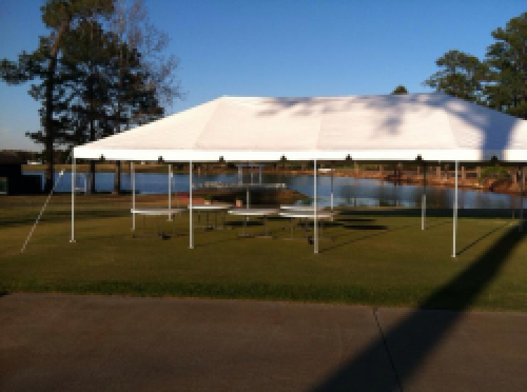 20×20 Pole Tent $300 – Bounce N Slide Event Rentals