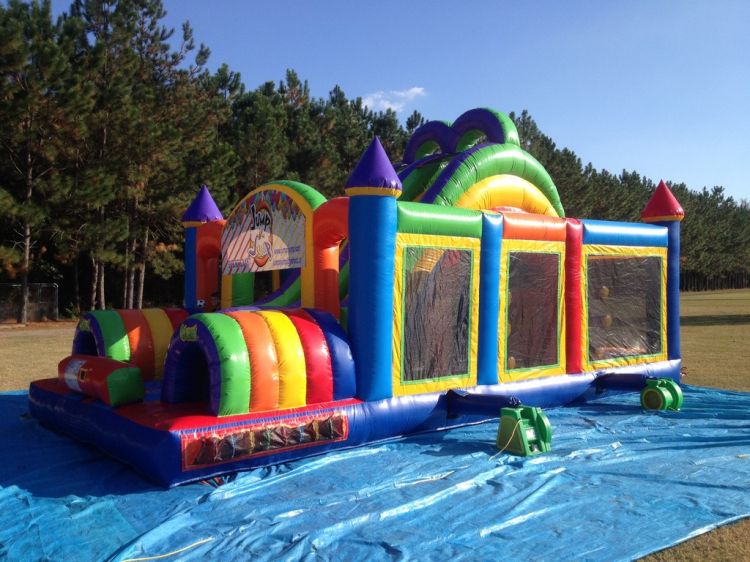 Enjoyable Bounce N Slide Event Rentals Inflatable Rentals In Adel Ga Interior Design Ideas Tzicisoteloinfo