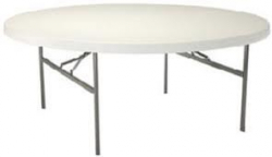 5 Foot (60 inch) Round Table $15ea