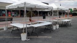 10x10 Pole Tent $175