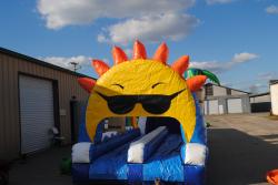 9954c6cc593e68ff76b02a58d77fa7bd Sun Shine Double Lane Slip N Slide $200