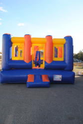 Out of Commission Open Top Bounce House 15X15 $125