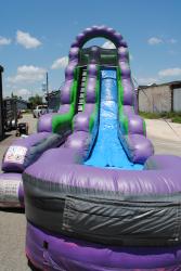 DSC 6577 590095218 18' purple slide landing (wet/dry) $300