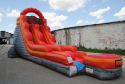 18' red slide landing (wed/dry) $300