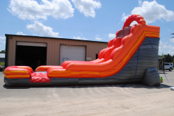 DSC 6583 343932198 Out of Commission 18' red slide landing (wed/dry) $300