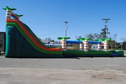 d15743a3f81b239124a93bedce2256de 22 Foot Double Lane Slide with 35 foot Slip n Slide $500