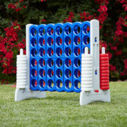 Giant Connect 4- Red, White & Blue