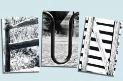 Architectural Letter Art Individual Easels