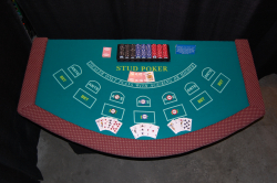 Casino - Caribbean Stud Table