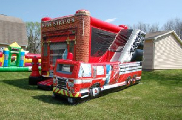 Fire Truck 5 in 1 Combo
